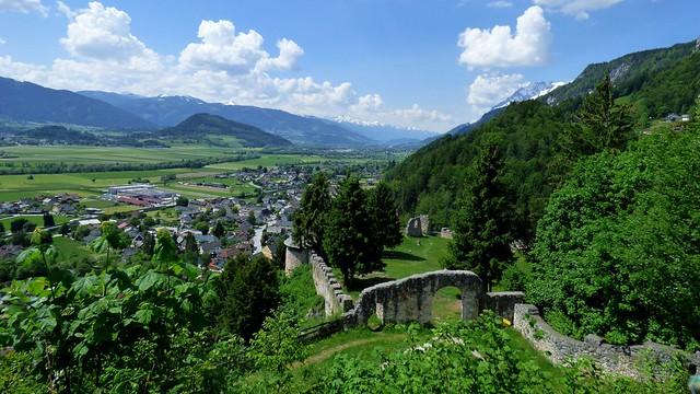 Burgruine Wolkenstein / Wolkenstein castle ruins