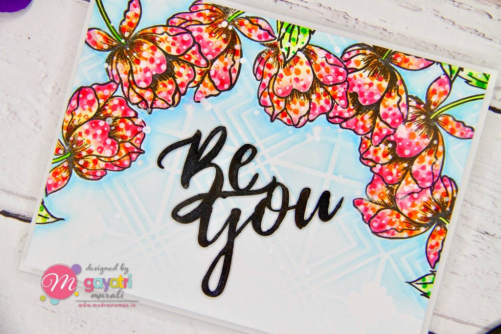 Be You card closeup1