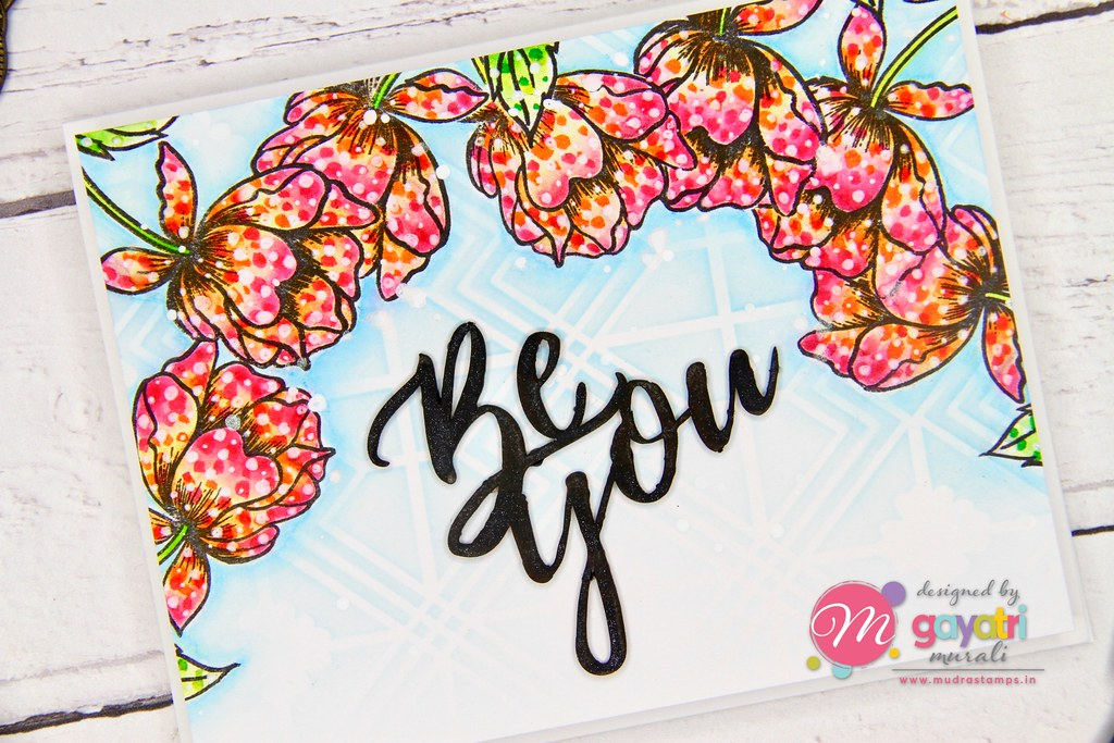 Be You card closeup
