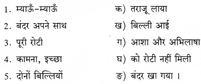 KSEEB Solutions for Class 8 Hindi वल्लरी Chapter 7 बंदर बाँट 7