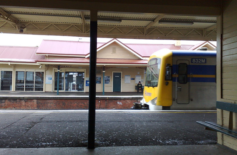 Mordialloc station, July 2009