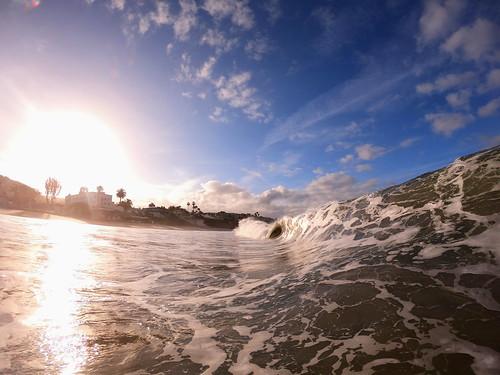 Beautiful Ocean Summer Sunrise In Laguna Beach