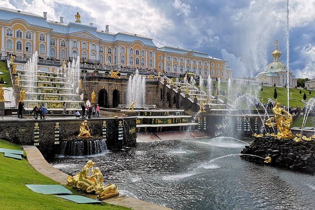 Grand Peterhof Palace and the Grand Cascade