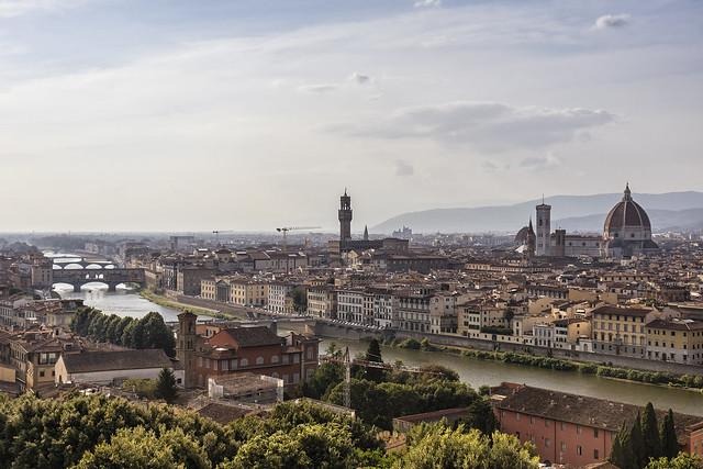 Florencia desde Piazzale Michelangelo (2)