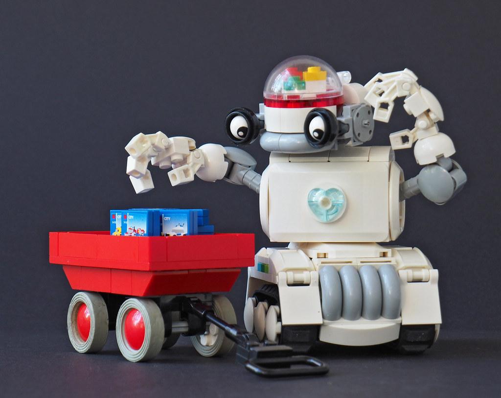 Huwbot (custom built Lego model)