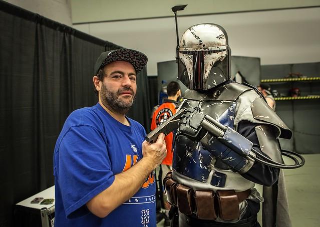 Tarek au Comiccon de Montréal