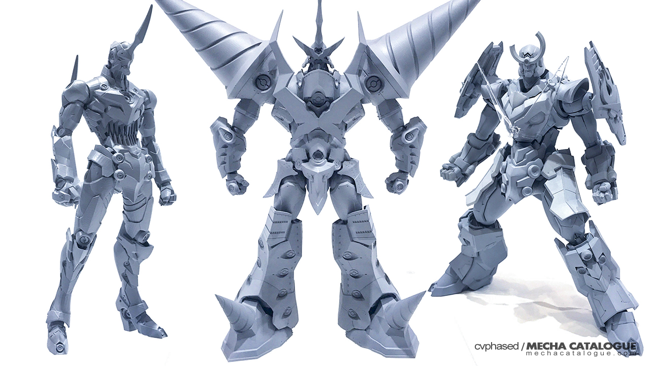 Wonder Festival 2019 Summer: Sen-Ti-Nel... and all the Gray Prototypes!