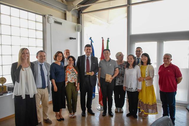 Visita di una delegazione della Municipalità di Jinan in Cina