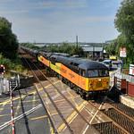 56049-56087 6E32 Preston Docks-Lindsey, Huncoat 30.07.2019