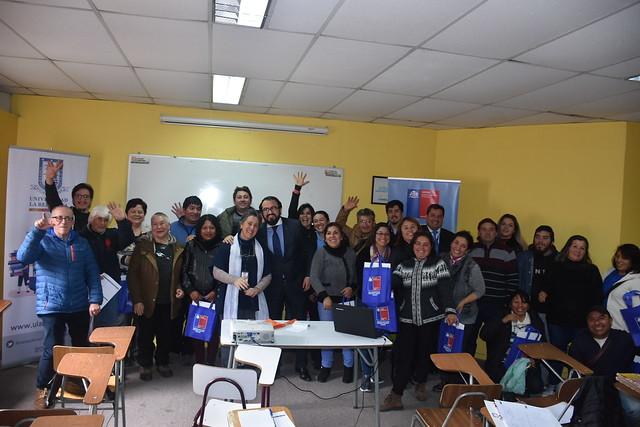 Taller de Capacitación Salud Laboral U. La Republica, Asof y Seremi Salud