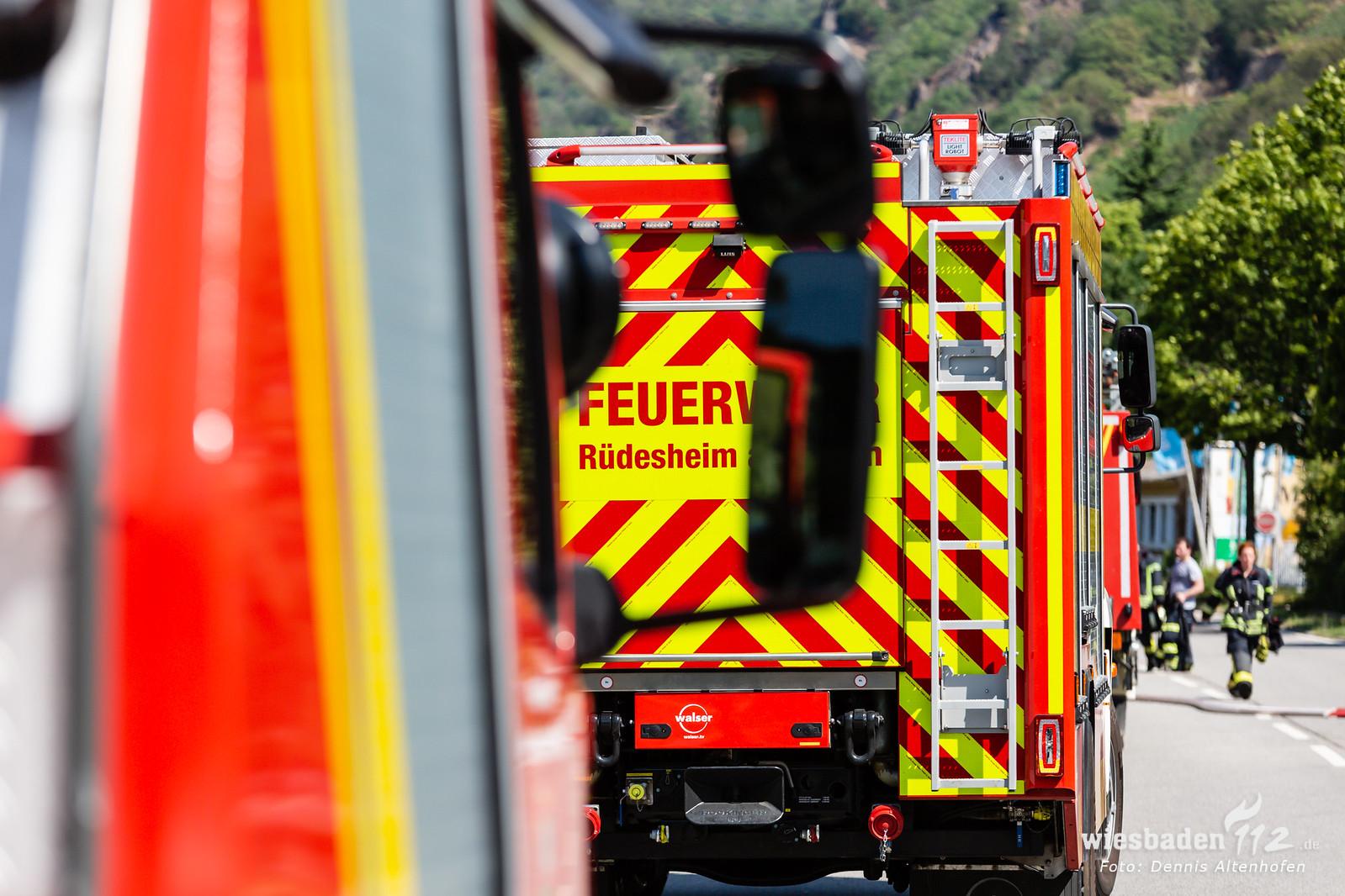 Schiffsbrand Assmannshausen 30.07.19