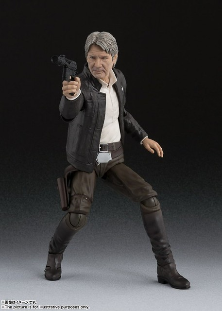 S.H.Figuarts 《星際大戰:原力覺醒》「韓索羅」! ハン・ソロ(STAR WARS: The Force Awakens)