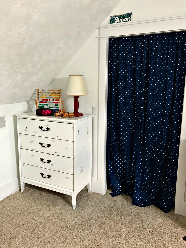 distressed farmhouse dresser