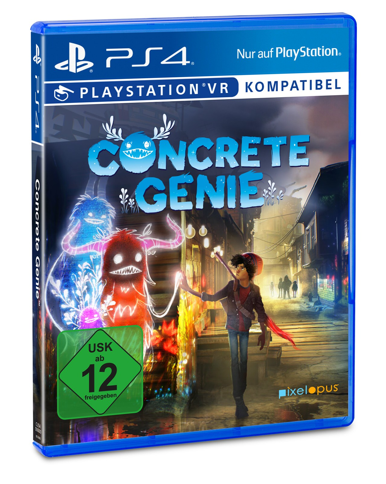 Concrete Genie on PS4