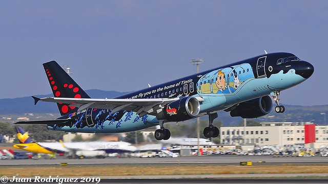 OO-SNB - Brussels Airlines - Airbus A320-214 - PMI/LEPA