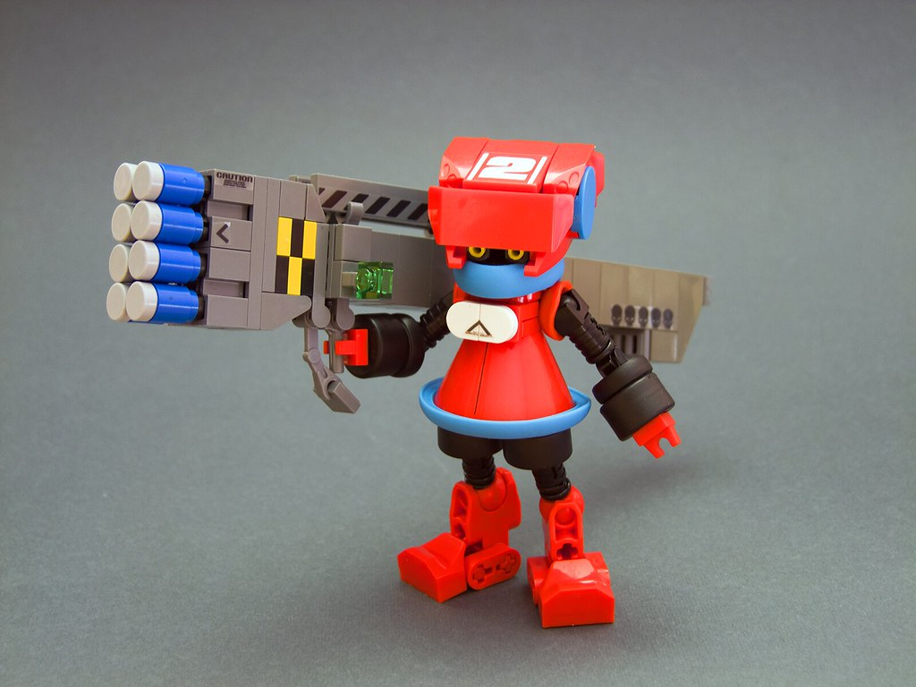 Lil' Tankbuster No.2 (custom built Lego model)