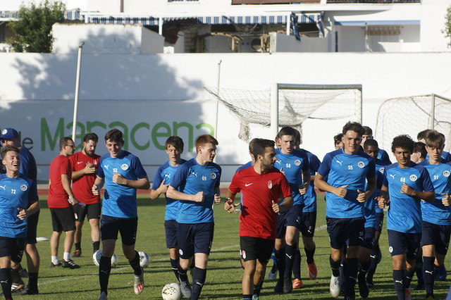 Wigan Athletic U18s Day 2 & 3 training in Granada