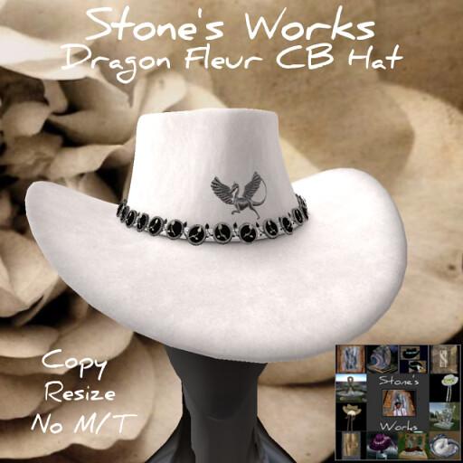 Dragon Fleur CB Hat Stone's Works