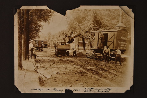 City of Massillon: Paving Projects 1920s-1940s