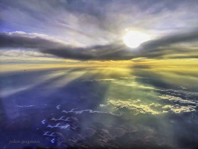 a 10.000 metros de altura