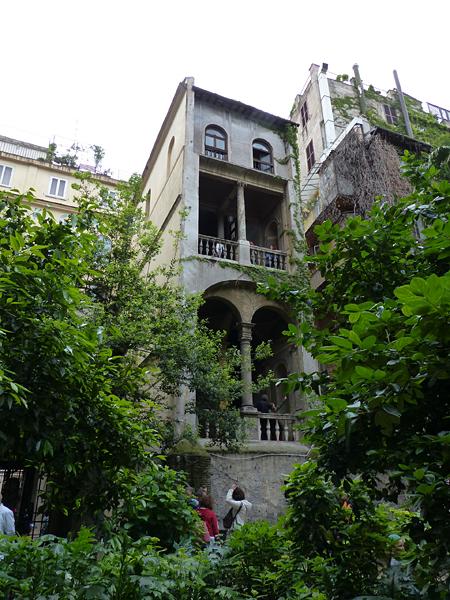 arches palazzo capponi