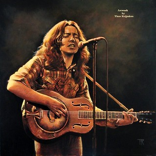 Rory Gallagher - Artwork by Theo Reijnders