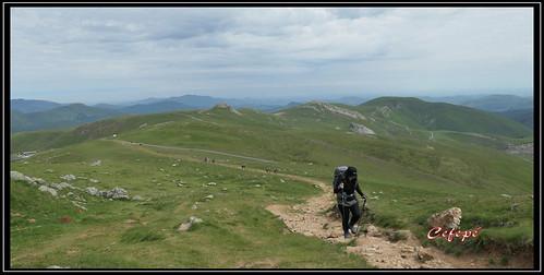 Camino de Santiago. Pirineos.