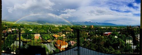 Rainbow in Salt Lake City