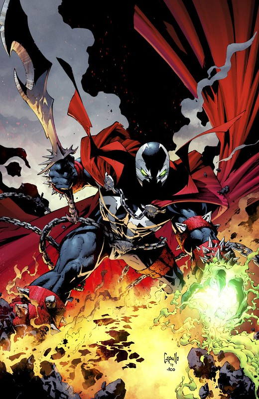 Image Comics - Spawn #300 (cover d, Greg Capullo virgin)
