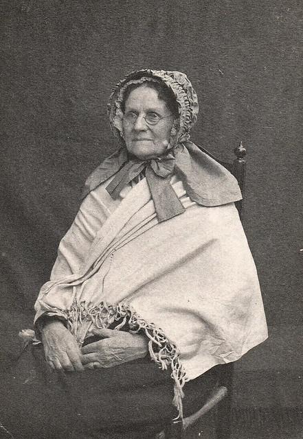 Mrs. Eliza Hart Brittian (Nee Anderson), Albumen Paper Print, 18 November, 1896, Reverse Inscription