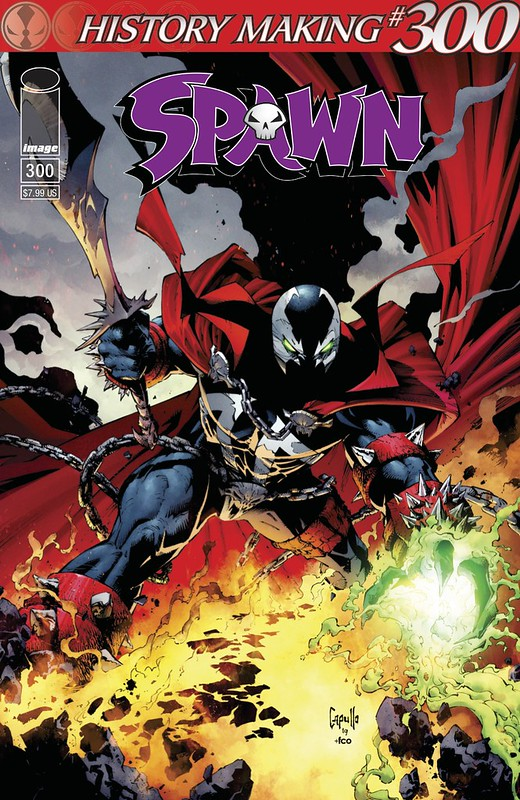 Image Comics - Spawn #300 (cover c, Greg Capullo)