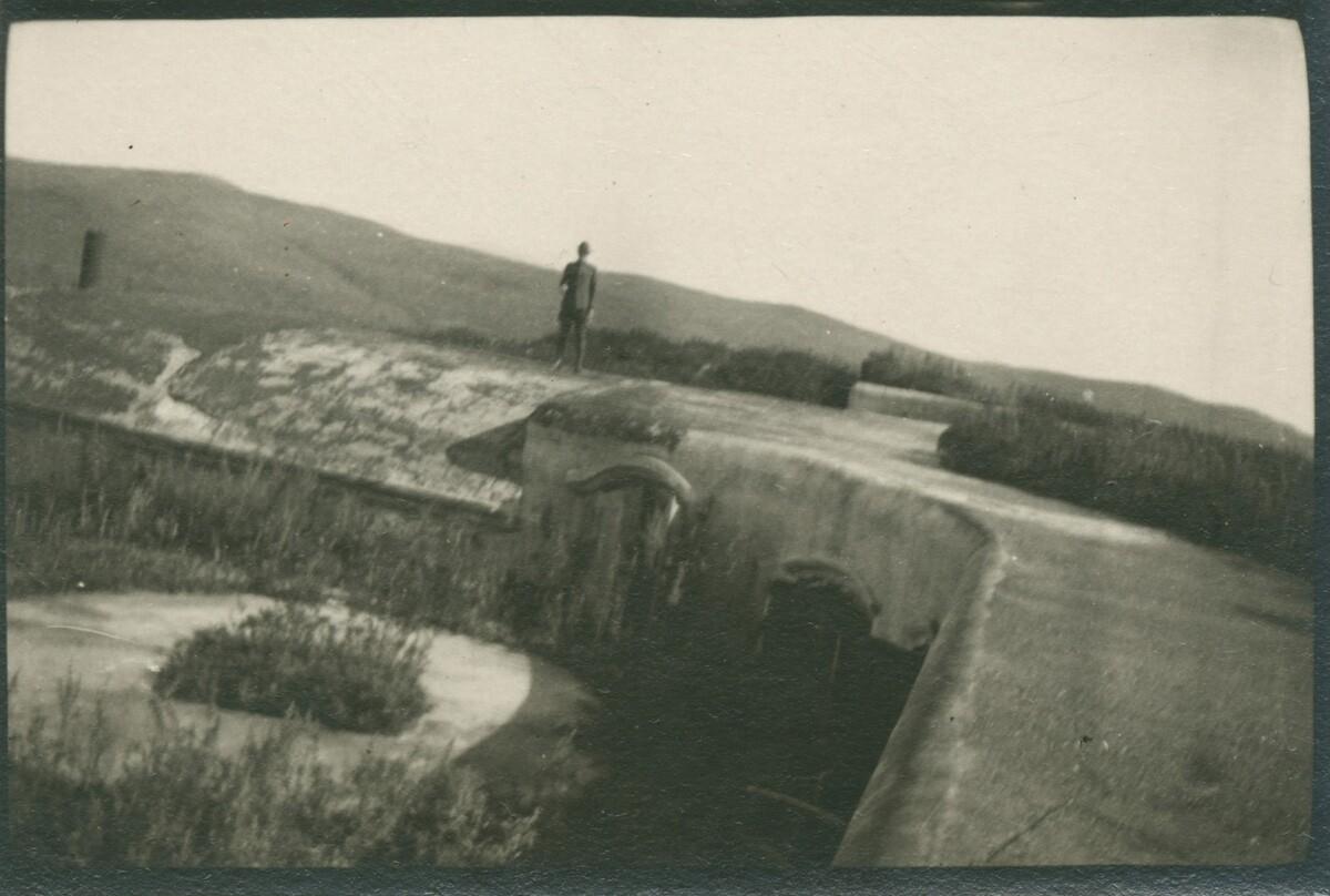 18. Форт «Поспелова». Убежище для выкатных орудий