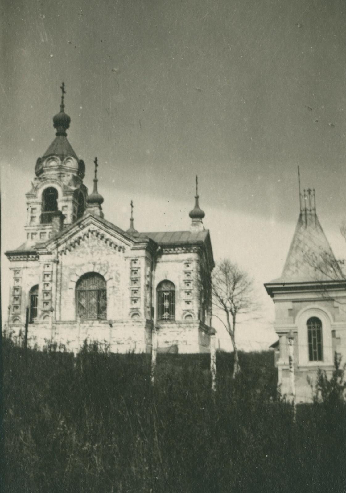 06. Часовня на морском кладбище Владивостока. 1919