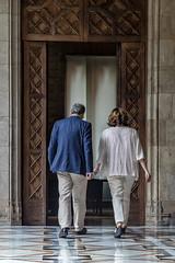 dt., 30/07/2019 - 11:40 - Barcelona 30.07.2019 Reunió de l'alcaldessa de Barcelona, Ada Colau, amb el president de la Generalitat, Quim Torra, al Palau de la Generalitat. Amb Motiu de l'inici del nou mandat municipal.