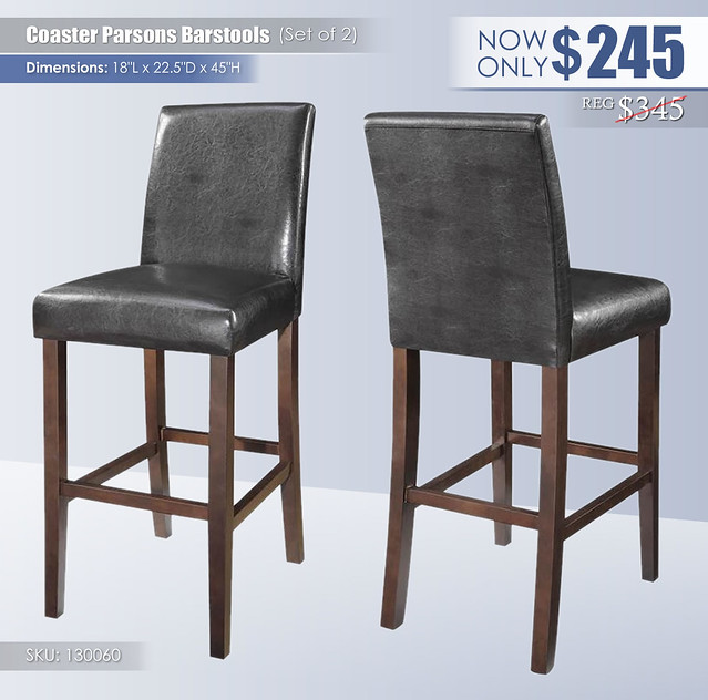 Coaster Parsons Barstools Set of 2_130060