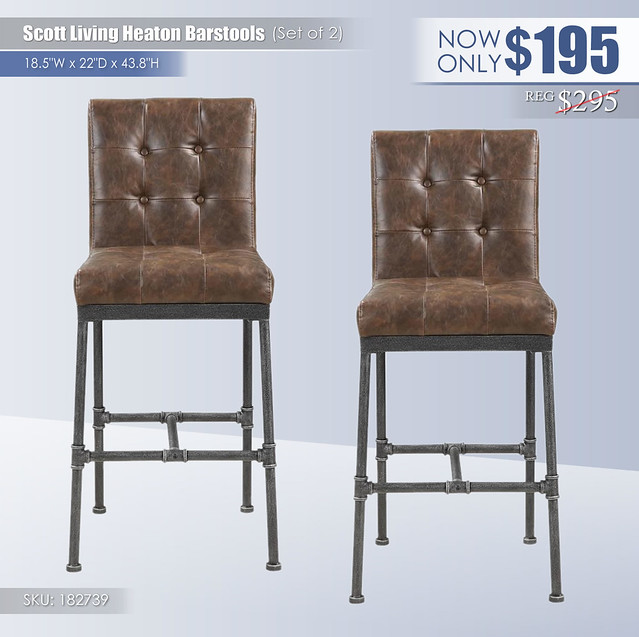 Scott Living Heaton Barstools_Set of 2_182739