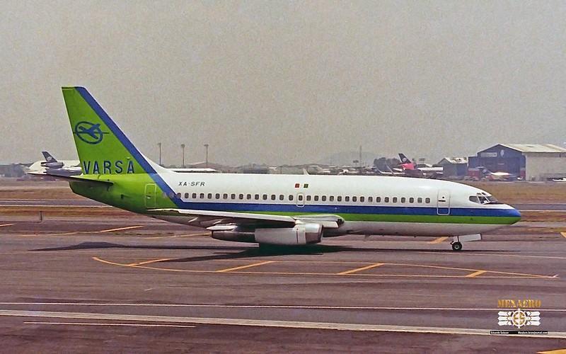 VARSA / Boeing 737-244 / XA-SFR