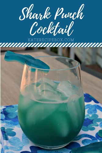 Shark Punch Cocktail | by katesrecipebox