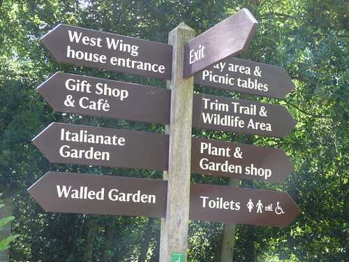 Ickworth - fingerpost