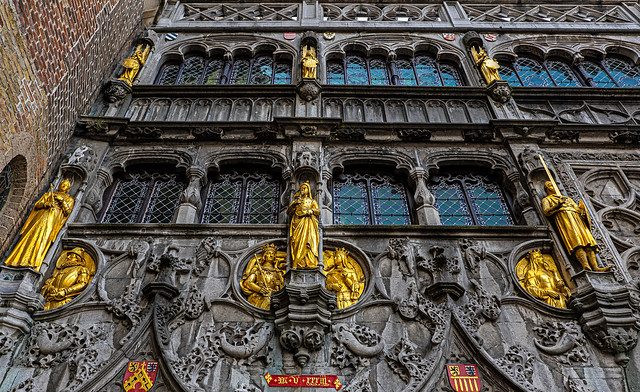 Entrance to the Basilica of the Holy Blood - Bruges  (Panasonic S1 & Lumix S 24-105mm f4 Zoom) (1 of 1)
