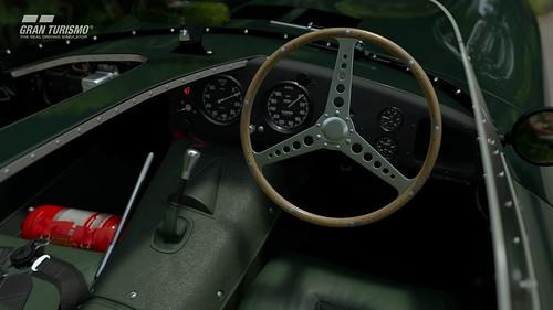 Jaguar D-type '54 Cockpit