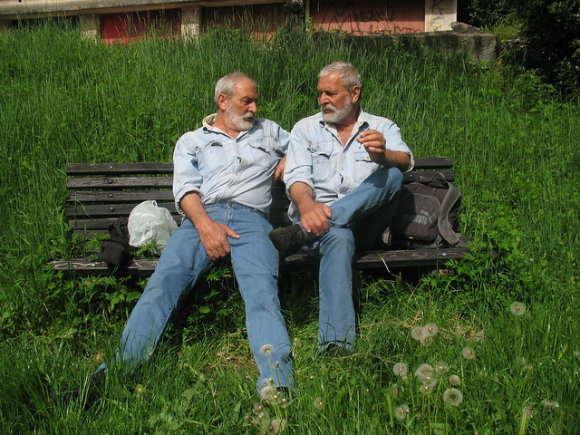 Nas dvoje u parku