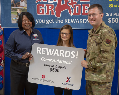 Sumter Military Child Wins $500 Prize for Academic Achievement at Shaw AFB | by Army & Air Force Exchange Service PAO
