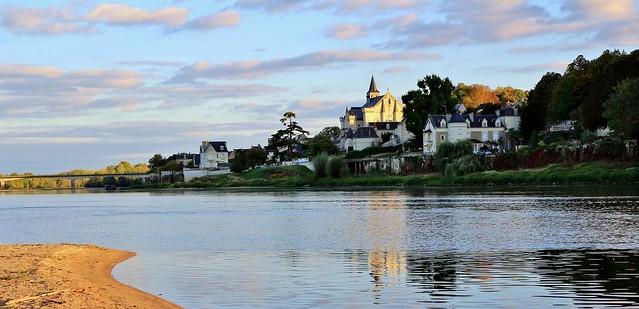 Collégiale saint-Martin de Candes, Centre-Val de Loire, indre-et-Loire
