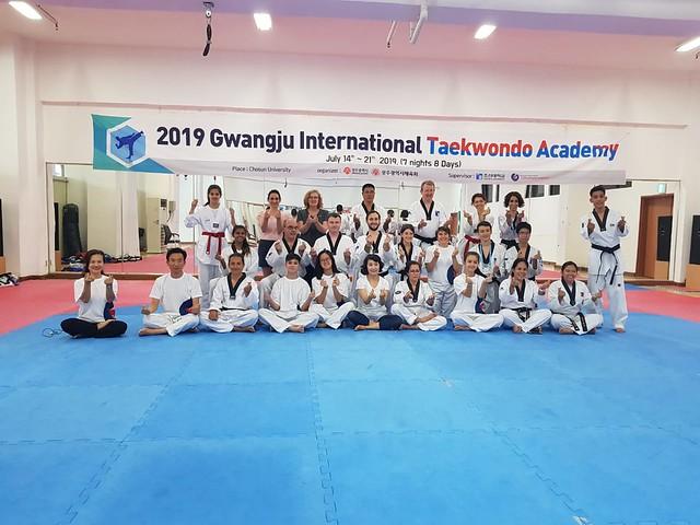 Gwang-ju Taekwondo  Intenacional Academy