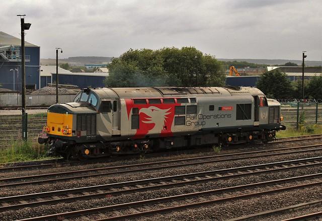 Rail Operation Group  37611 - Worksop