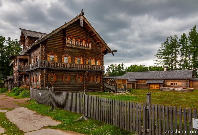 Усадьба Богословка, Ленинградская область, Дом Е.А.Костина