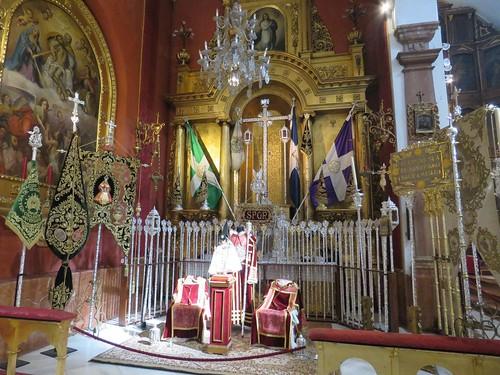 Altares de Insignias: Domingo de Ramos