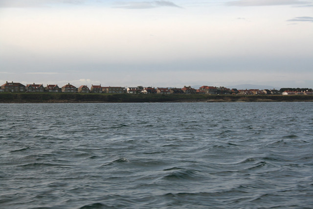 Seahouses from the coast