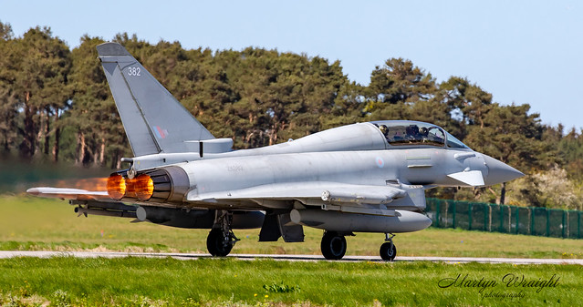 RAF 29 Sqn Typhoon Eurofighter